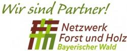 Logo Netzwerk Forst und Holz | Bayerischer Wald